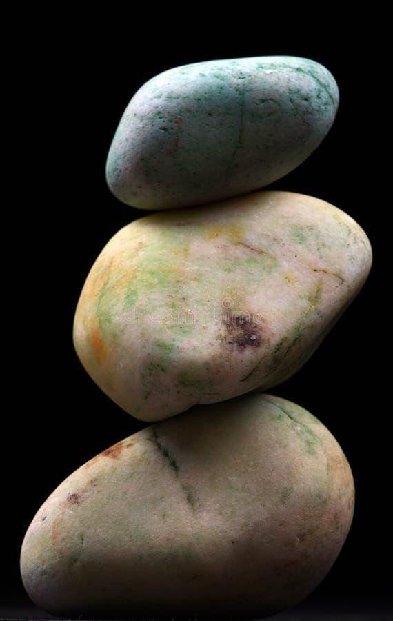 balansowy kamień obraz stock