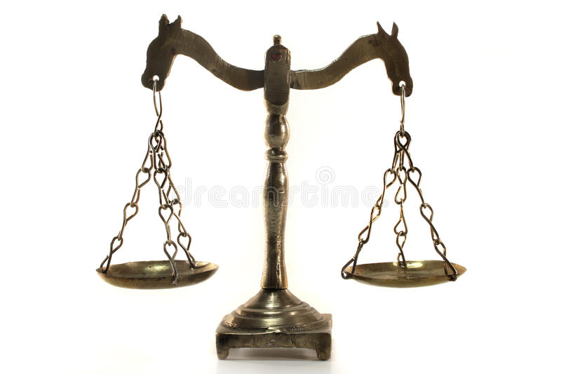 balansowy promień obraz stock