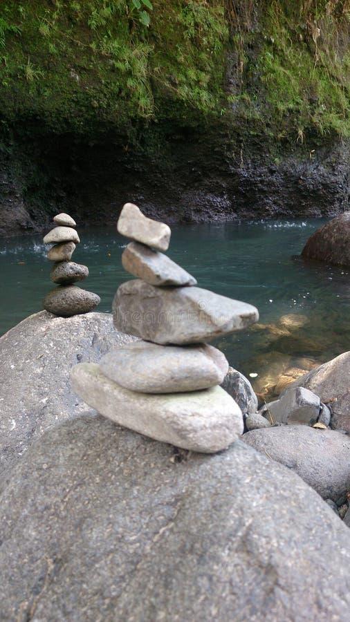 Balanza de la roca imágenes de archivo libres de regalías