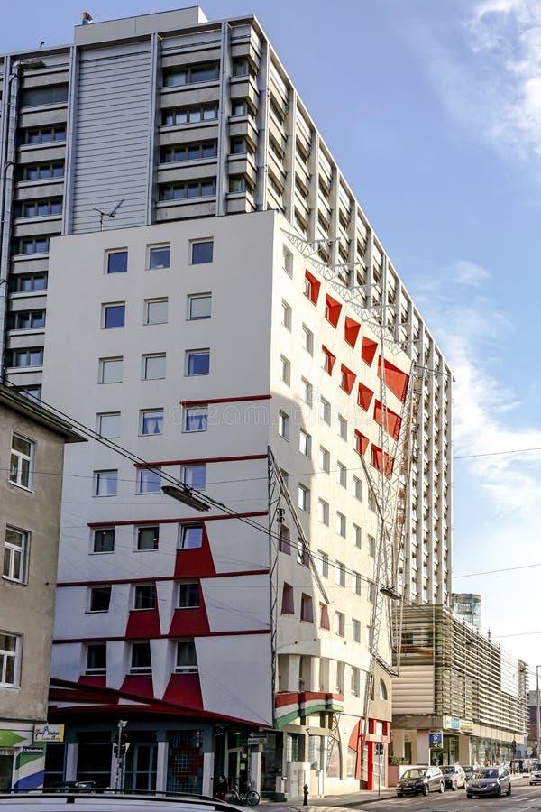 Balassi Institut - Collegium Hungaricum, Wenen, Oostenrijk stock afbeelding