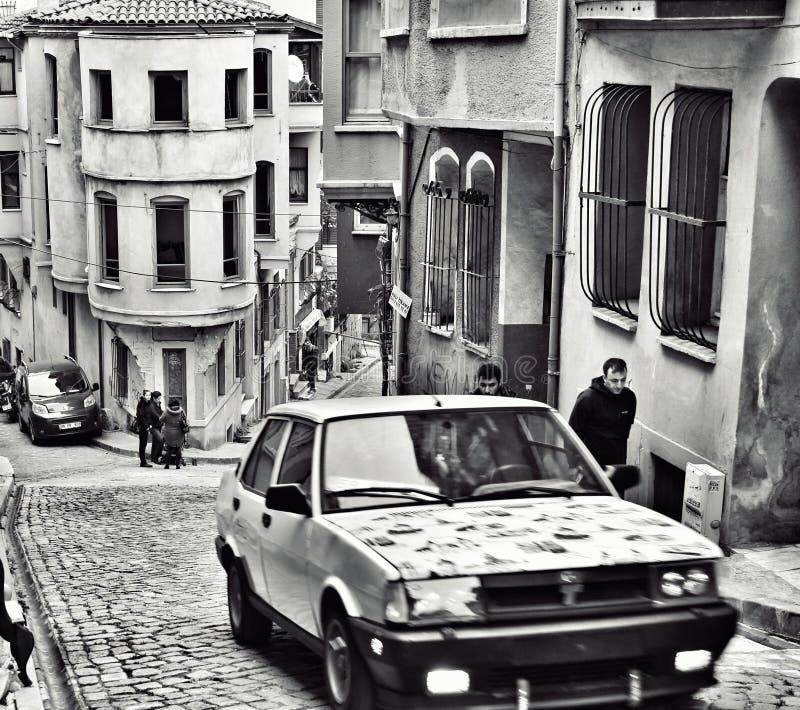 balat samochód obrazy royalty free