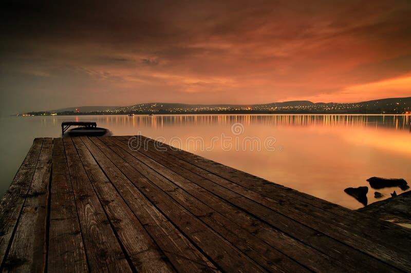 balaton λίμνη στοκ εικόνα