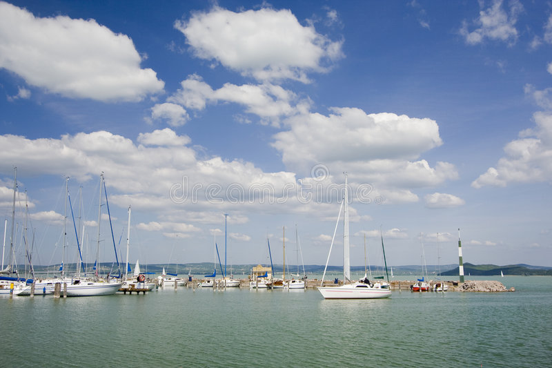 Balaton royalty free stock image