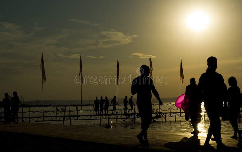 Balaton photographie stock libre de droits