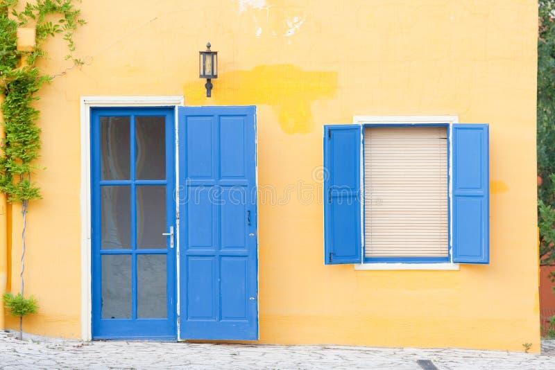 balatonfured五颜六色的房子 免版税图库摄影