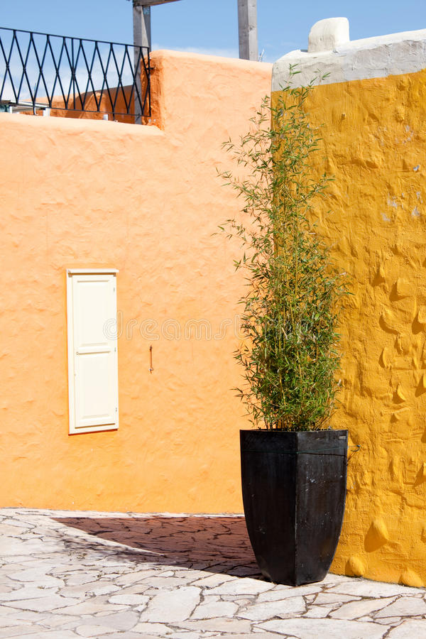 balatonfured五颜六色的房子 库存照片
