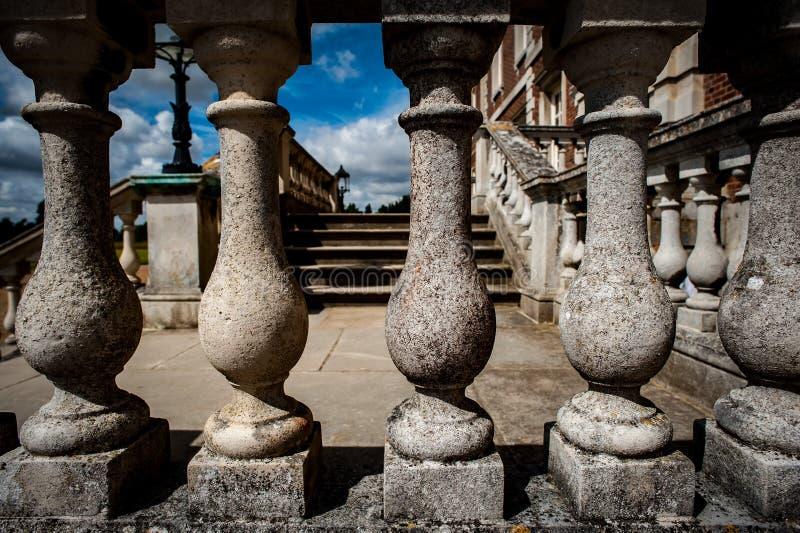 Balaustre di pietra immagini stock libere da diritti