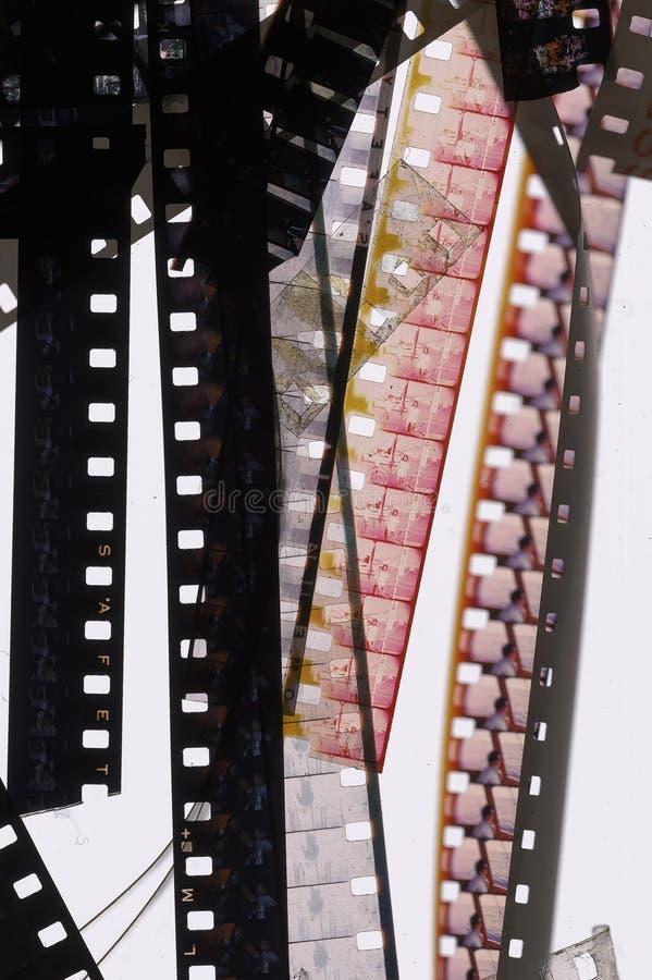 balayage de film de 8mm photographie stock libre de droits