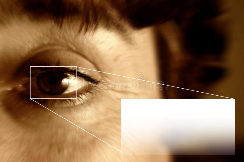 Balayage et place d'iris pour votre texte image libre de droits