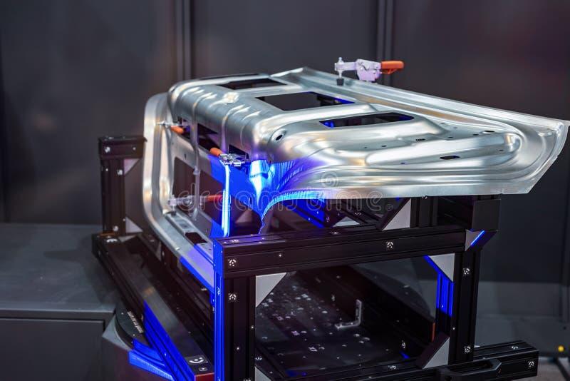 Balayage robotique du système 3d photographie stock