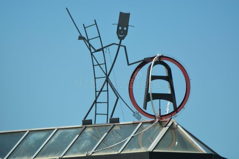 Balayeuse de cheminée photographie stock libre de droits