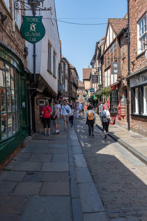 A balbúrdia em York, Inglaterra, Reino Unido imagem de stock royalty free