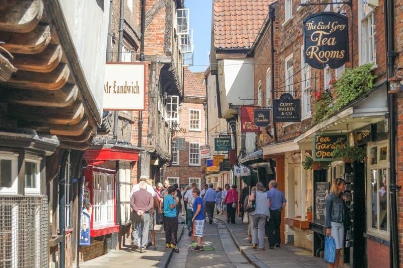 A balbúrdia York Inglaterra fotografia de stock royalty free
