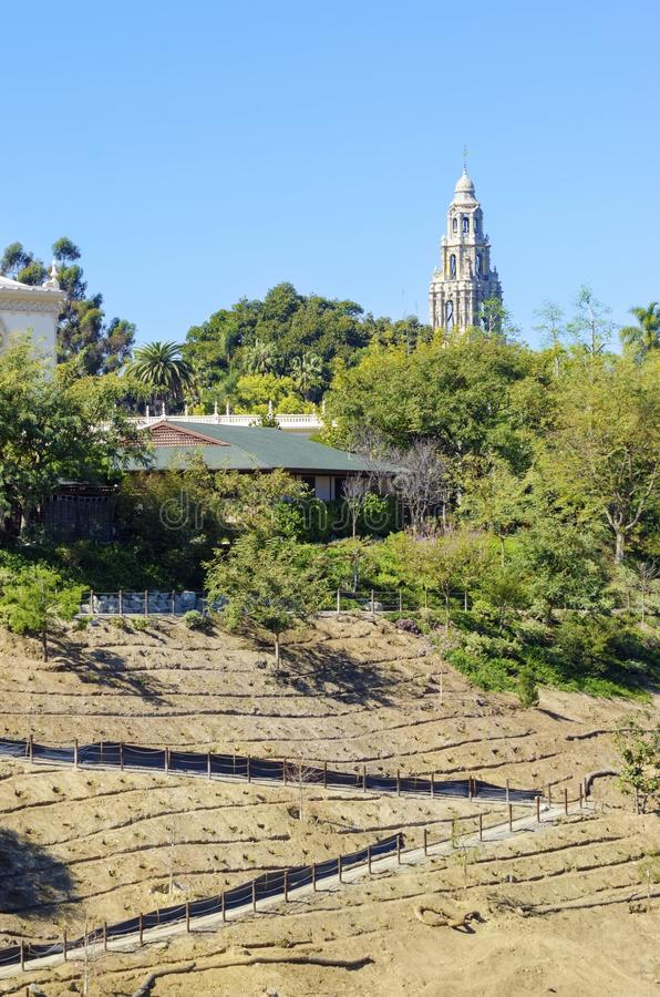 balboa California Diego parkowy San obrazy royalty free