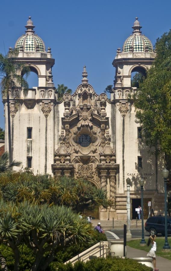 balboa casa del park prado στοκ φωτογραφία με δικαίωμα ελεύθερης χρήσης