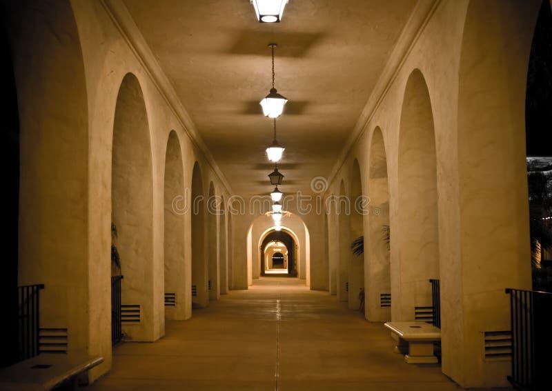 Download Balboa Park Corridor stock image. Image of museums, destinations - 12420441
