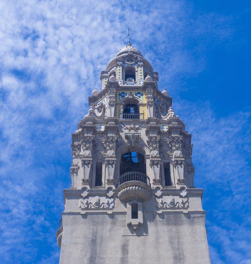 Balboa-Park, San Diego lizenzfreies stockbild