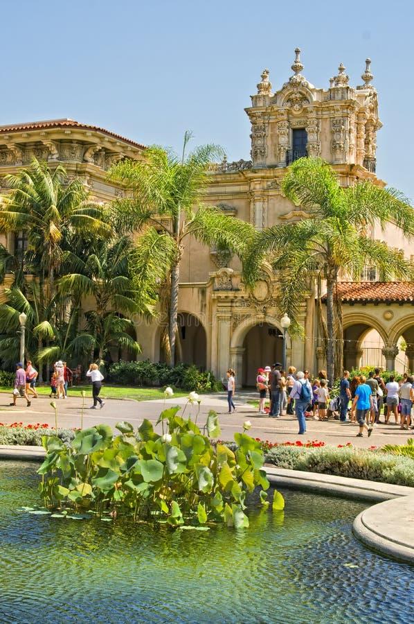 Balboa-Park, San Diego, Kalifornien lizenzfreies stockbild
