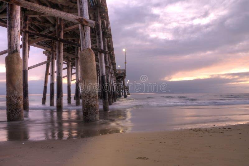 Balboa Pier Newport Beach imagem de stock royalty free