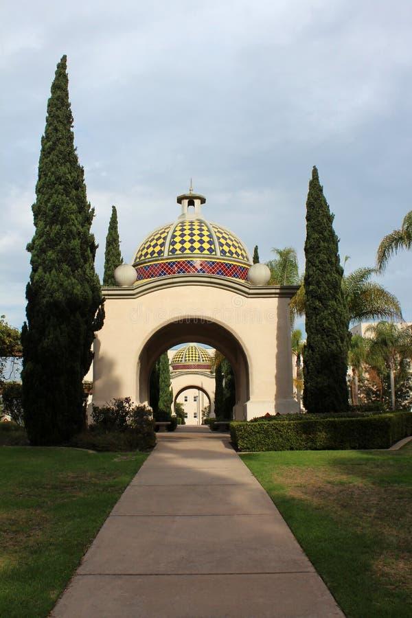Balboaen parkerar, San Diego royaltyfria bilder