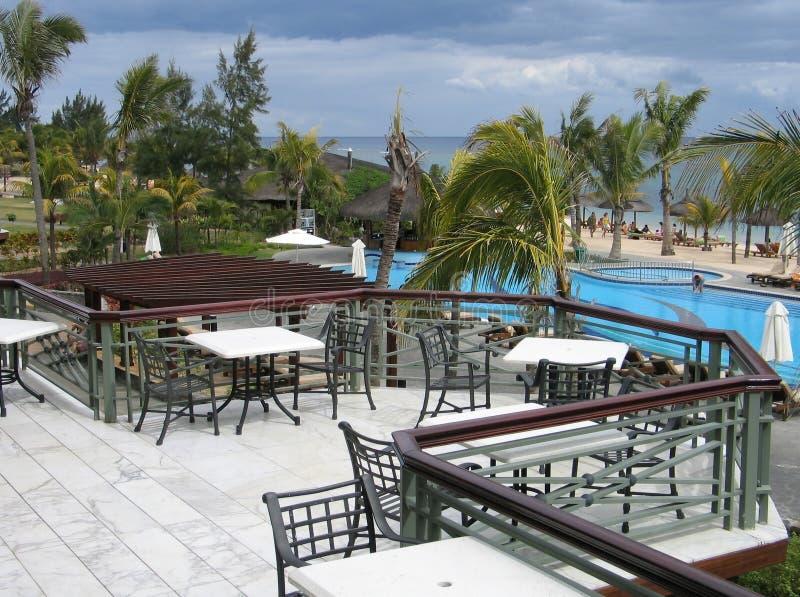 Download Balcão foto de stock. Imagem de metal, férias, pool, praia - 63386