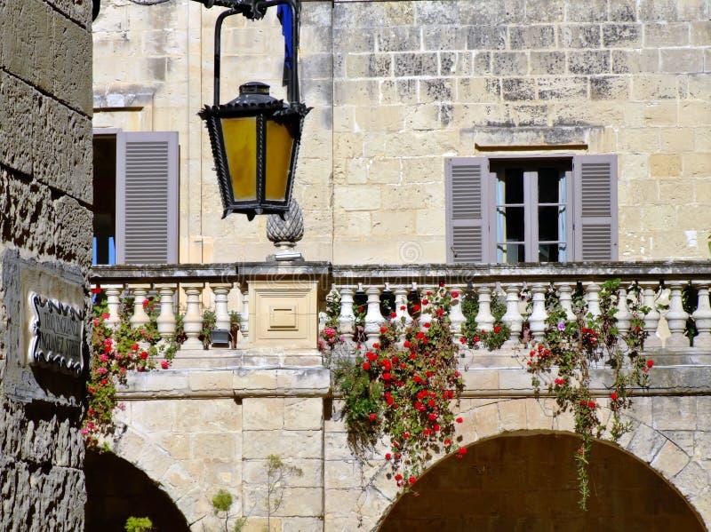 Balcão barroco foto de stock