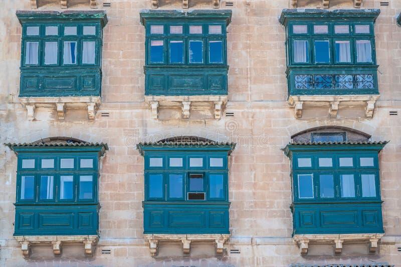 Balcão de madeira de Malta foto de stock royalty free