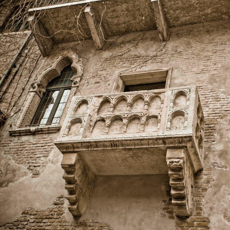 Balcão de Romeo e de Juliet imagens de stock royalty free