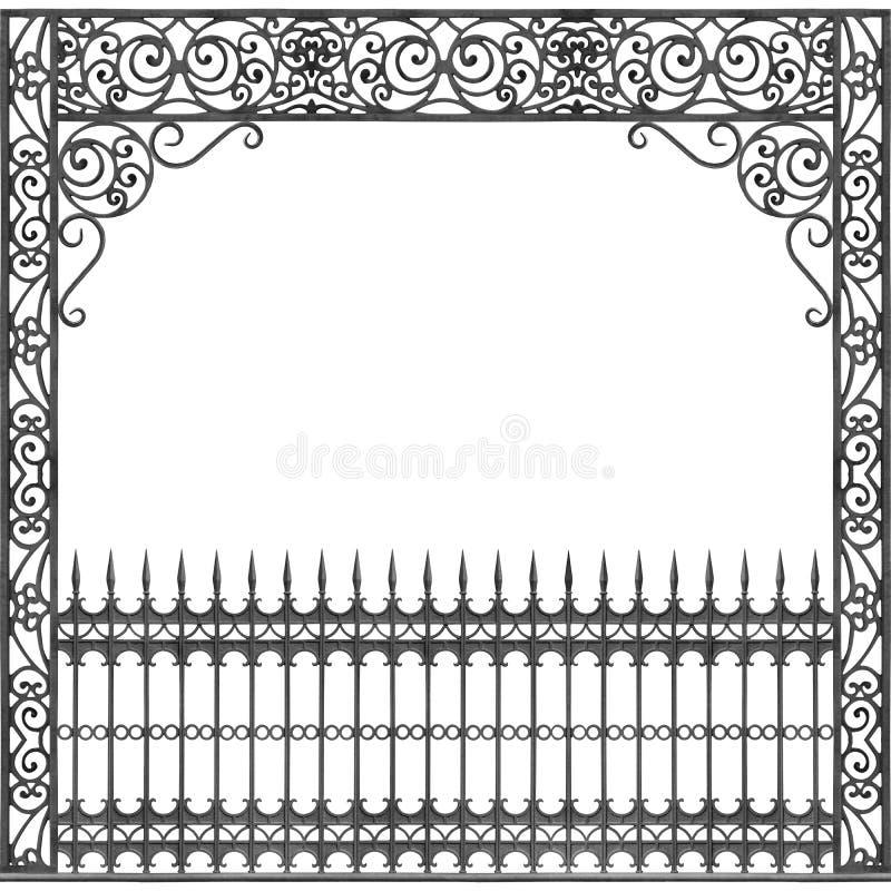Balcão do ferro forjado de Nova Orleães ilustração royalty free