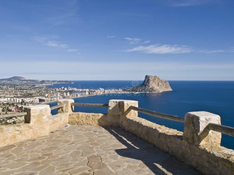 Balcão mediterrâneo imagens de stock royalty free