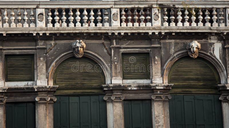 Balcão Veneza imagem de stock