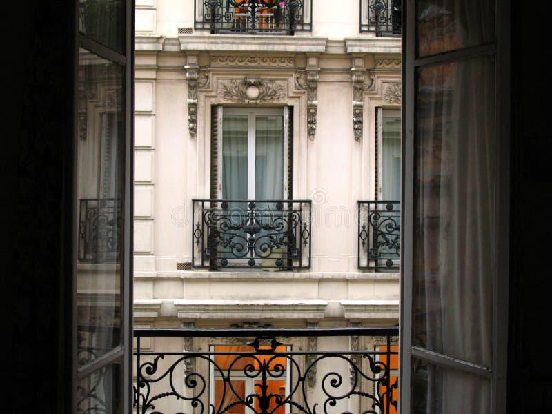 Balcón imagen de archivo