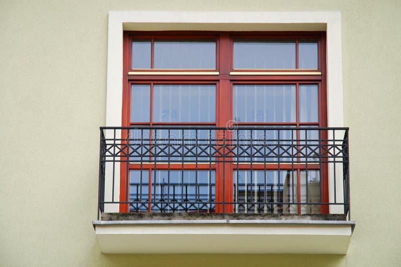 Balcón foto de archivo libre de regalías