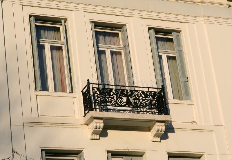 Balcón clásico imágenes de archivo libres de regalías