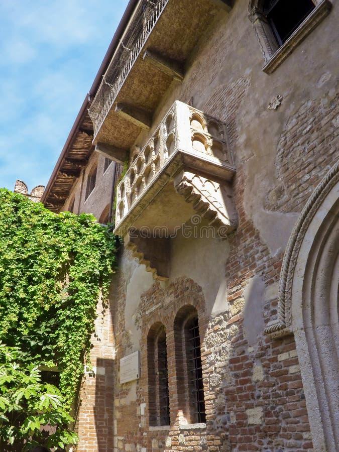 Balcón de Juliet imagenes de archivo
