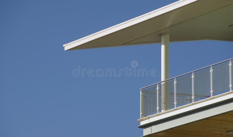 Balcón dramático fotos de archivo