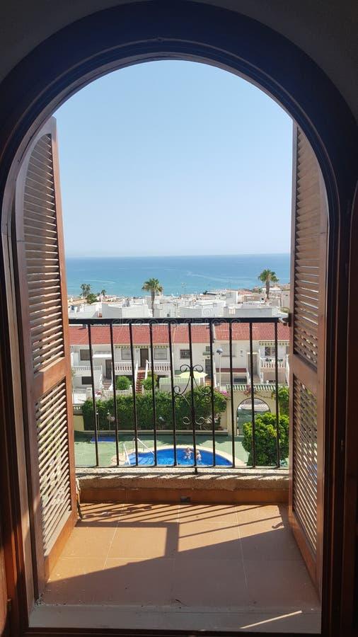 Balcón España de la visión fotografía de archivo libre de regalías