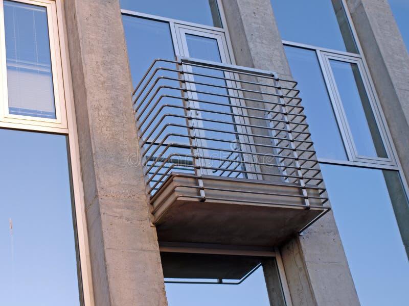 Balcón moderno imagen de archivo libre de regalías