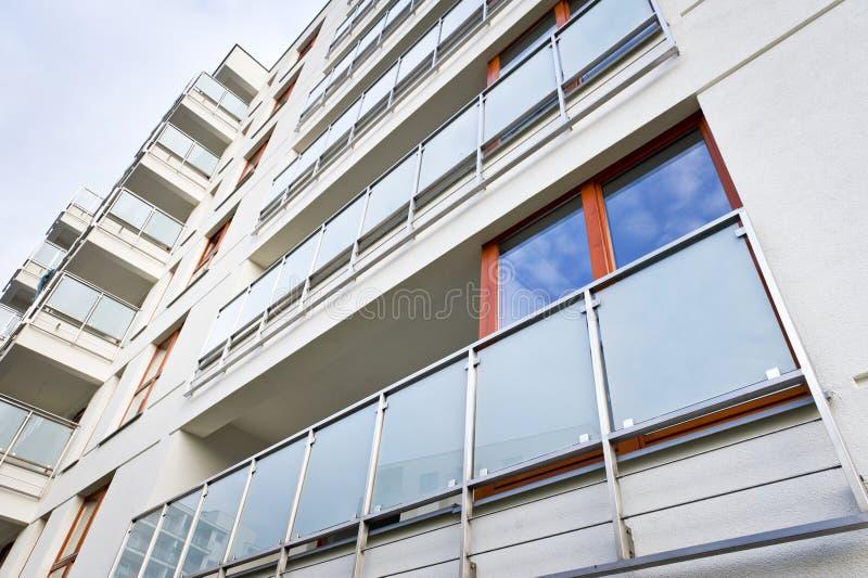 Balcón moderno imágenes de archivo libres de regalías