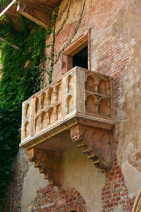 Balcón Verona imagen de archivo libre de regalías