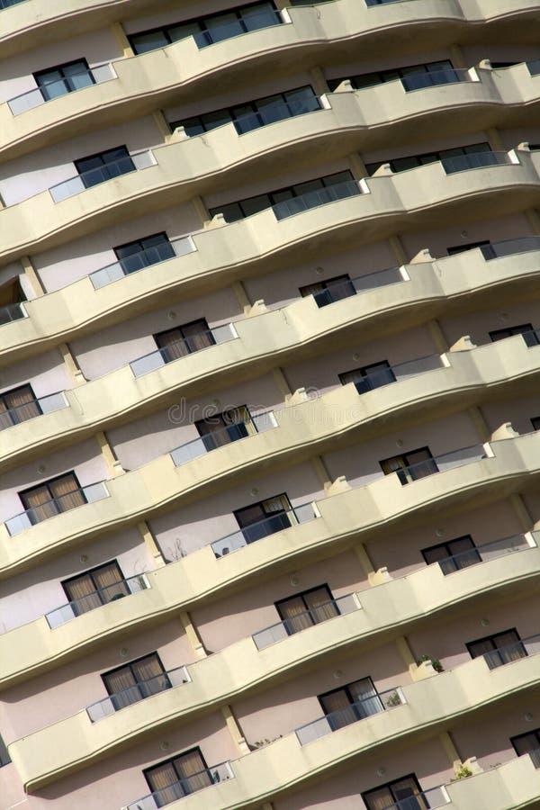 Download Balcões foto de stock. Imagem de urbano, hotel, facade - 16874000
