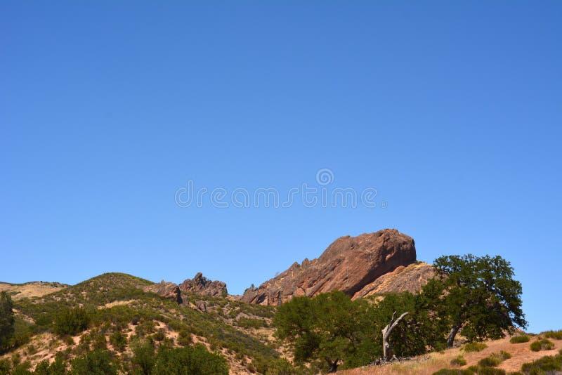 Balcões do parque nacional dos pináculos fotografia de stock