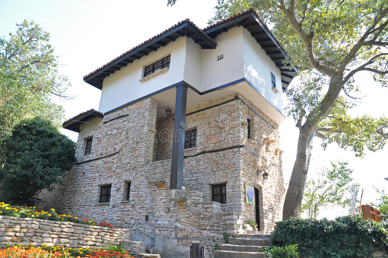 balchik植物园宫殿 库存照片