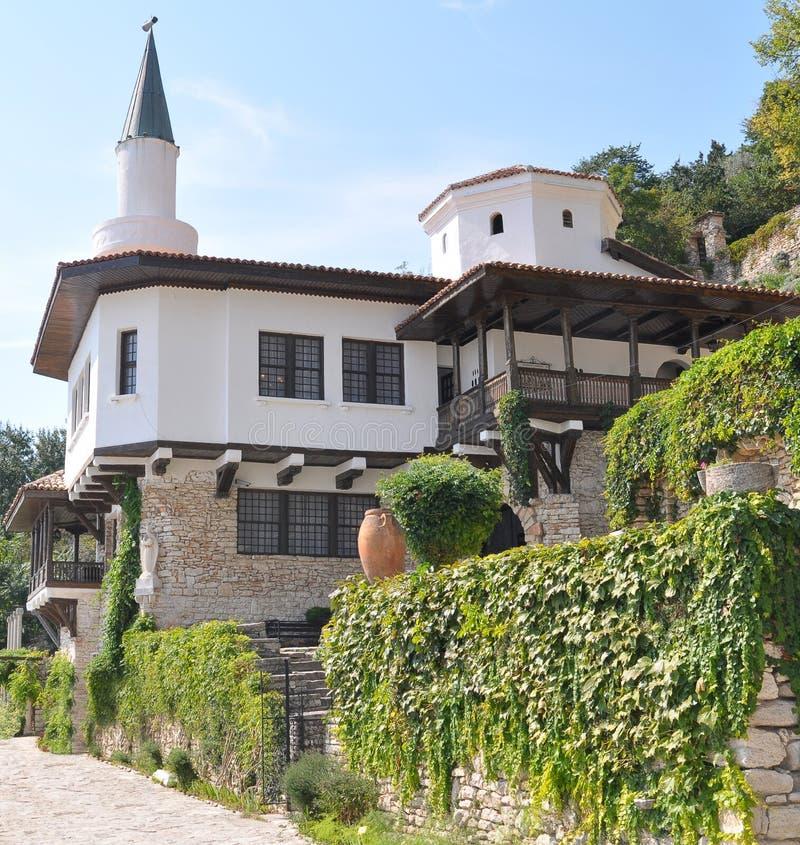 balchik植物园宫殿 免版税图库摄影