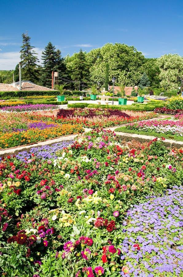 balchik植物园 免版税图库摄影
