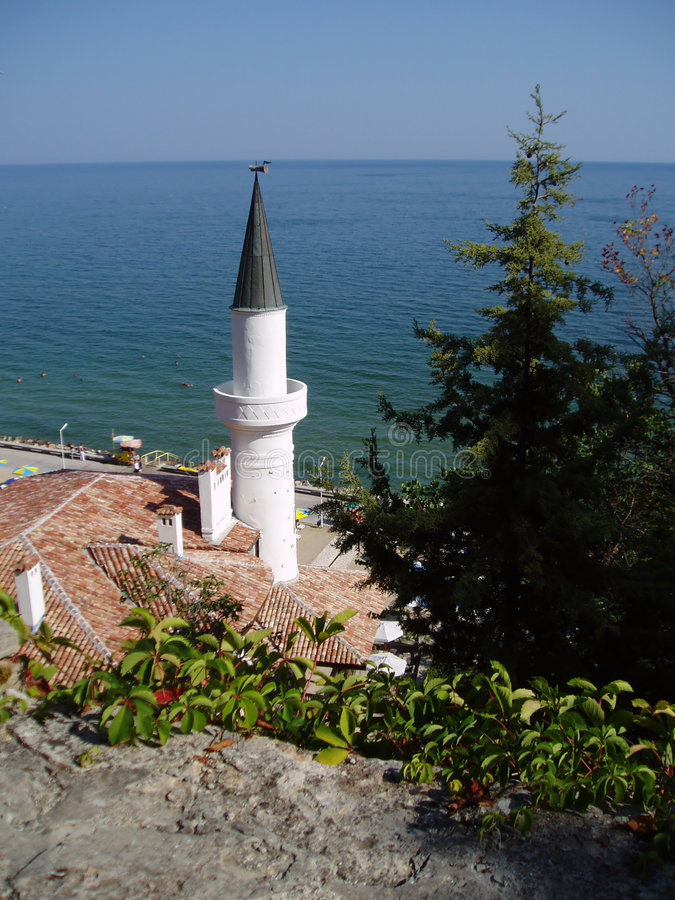 balchik Βουλγαρία στοκ φωτογραφίες με δικαίωμα ελεύθερης χρήσης