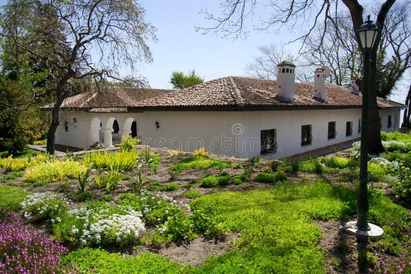 Balchik Beautiful Garden. Photo taken in Bulgaria stock photo