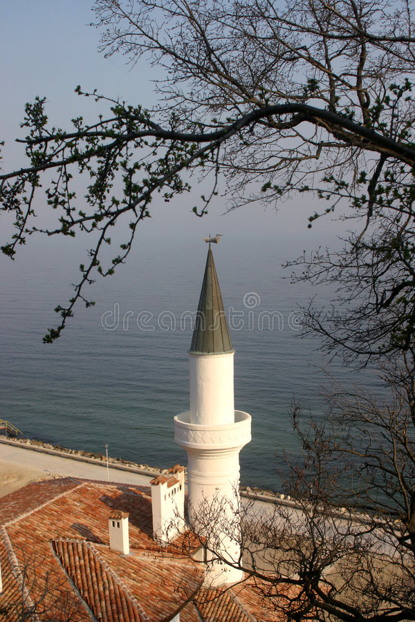 Balchik, Bulgaria. Black sea coast. Balchik, Bulgaria stock image