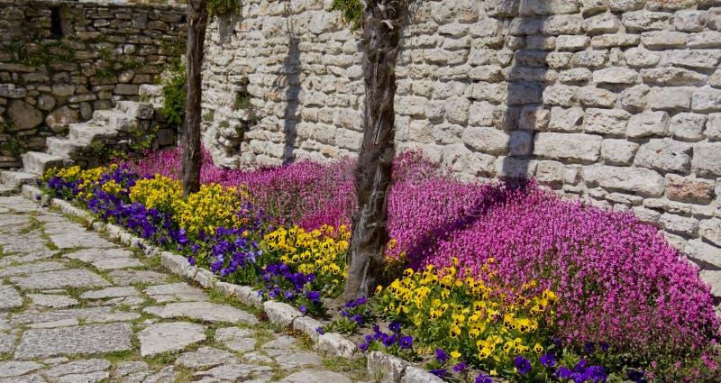 Balchik Castle royalty free stock images