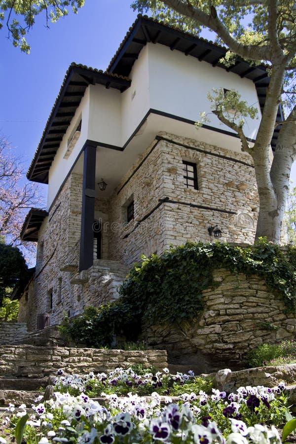 Balchik Castle royalty free stock image